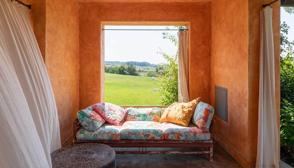 Van Gogh bedroom's porch